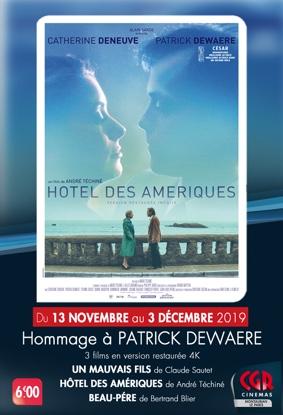HOMMAGE À PATRICK DEWAERE #Montauban @ Cinéma CGR Le Paris