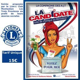 LA CANDIDATE PAR LA CIE DES A.J.T. #Montauban @ Théâtre de l'Embellie
