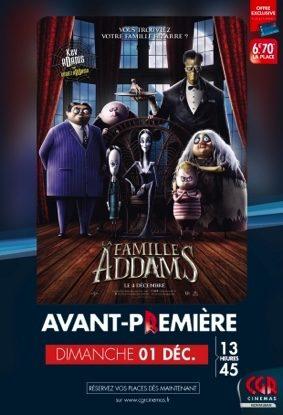 LA FAMILLE ADDAMS EN AVANT-PREMIÈRE #Montauban @ CGR Montauban
