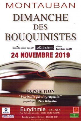 LE DIMANCHE DES BOUQUINISTES #Montauban @ Eurythmie