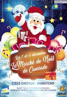MARCHÉ DE NOEL DE CAUSSADE #Caussade @ Les promenades