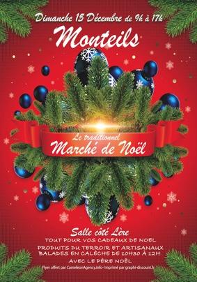 MARCHÉ DE NOEL DE MONTEILS #Monteils @ Salle Coté Lère