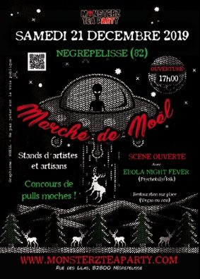 MARCHÉ DE NOËL DES MONSTERZ #Nègrepelisse @ Monsterz Tea Party
