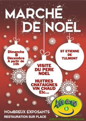 MARCHE DE NOEL #Saint-Étienne-de-Tulmont @ place du village