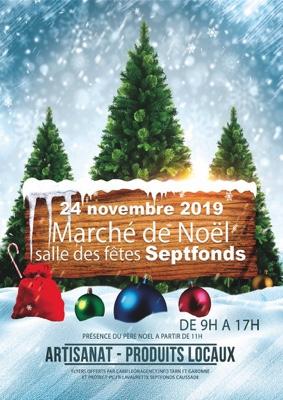 MARCHÉ DE NOEL #Septfonds @ Salle des fêtes