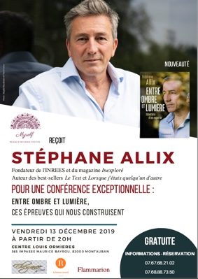MYSELF REÇOIT STÉPHANE ALLIX #Montauban @ Centre Louis Ormières