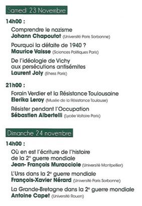 NOUVEAU EGARDS SUR LA DEUXIÈME GUERRE MONDIALE #Lavit-de-Lomagne @ La Maison de la Culture