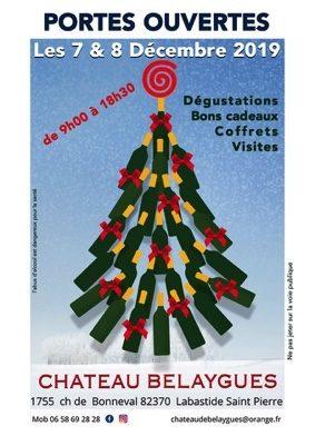 PORTES OUVERTES AU CHÂTEAU DE BELAYGUES #Labastide-Saint-Pierre @ Château de Belaygues