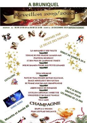REPAS DANSANT #Bruniquel @ salle des fêtes