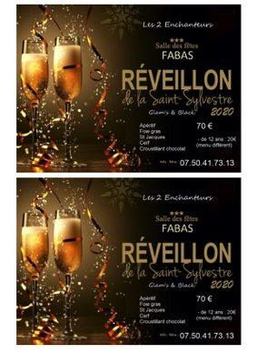 RÉVEILLON #Fabas @ salle des fêtes