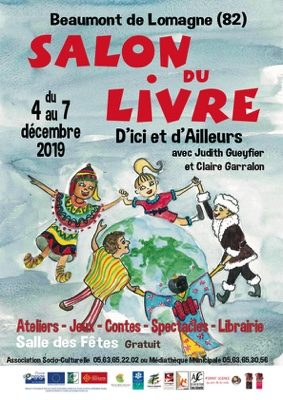 SALON DU LIVRE JEUNESSE #Beaumont-de-Lomagne @ Salle des Fêtes