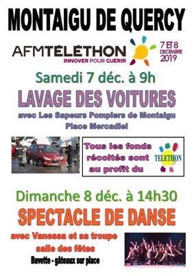 TÉLÉTHON #Montaigu-de-Quercy @ place et salle des fêtes