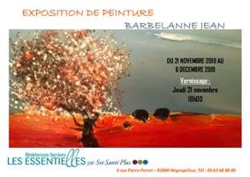 VERNISSAGE DE L'EXPO PEINTURE #Nègrepelisse @ LES ESSENTIELLES