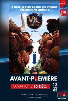 VIC LE VIKING EN AVANT-PREMIÈRE #Montauban @ CGR Montauban