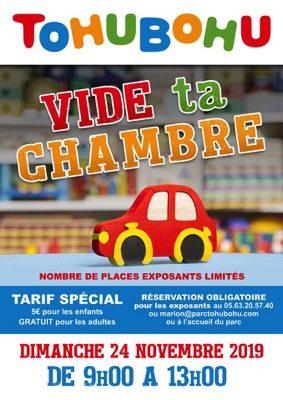VIDE TA CHAMBRE #Montauban @ TOHUBOHU