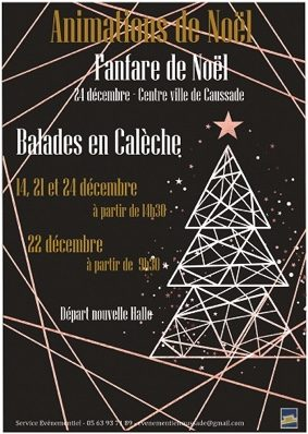 ANIMATIONS DE NOËL #Caussade @ Centre ville