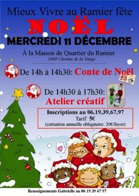 ATELIER ENFANTS DE NOEL #Montauban @ Maison de quartier du Ramier