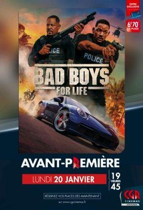 BAD BOYS - EN AVANT-PREMIÈRE #Montauban @ CGR MONTAUBAN