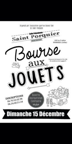 BOURSE AUX JOUETS #Saint-Porquier @ Salle polyvalente