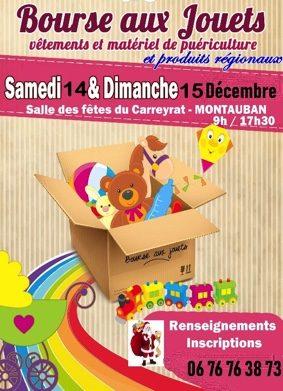 BOURSES AUX JOUETS #Montauban @ Salle des fêtes du Carreyrat