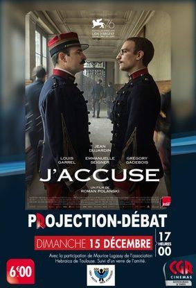 CINÉ-DÉBAT - J'ACCUSE #Montauban @ Cinéma CGR Le Paris