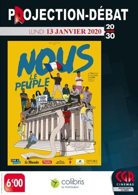 CINÉ-DÉBAT - NOUS LE PEUPLE #Montauban @ Cinéma CGR Le Paris