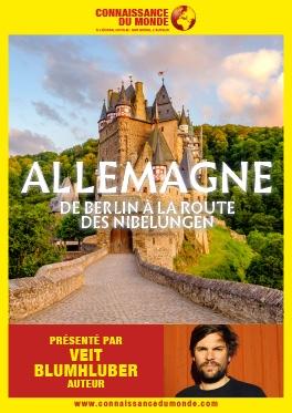 CONNAISSANCE DU MONDE - ALLEMAGNE, DE BERLIN À LA ROUTE DES NIBELUNGEN #Montauban @ Cinéma CGR Le Paris
