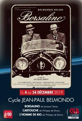 CYCLE JEAN-PAUL BELMONDO #Montauban @ Cinéma CGR Le Paris