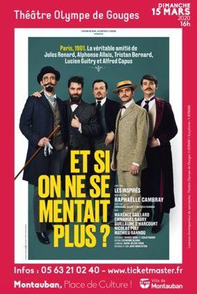 ET SI ON NE SE MENTAIT PLUS ? #Montauban @ Théâtre Olympe de Gouges