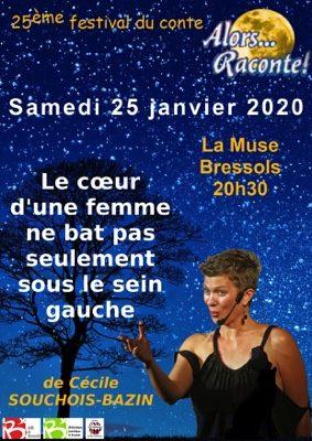 LE CŒUR D'UNE FEMME NE BAT PAS SEULEMENT SOUS LE SEIN GAUCHE #Bressols @ La Muse