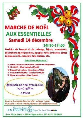 MARCHE DE NOEL #Nègrepelisse @ Les Essentielles