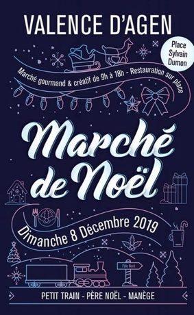 MARCHÉ DE NOËL #Valence d'Agen @ Place Sylvain Dumon