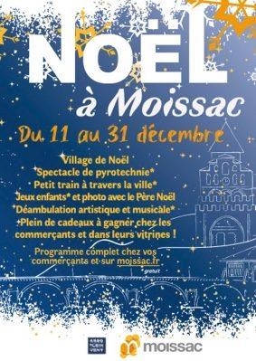 NOËL À MOISSAC #Moissac