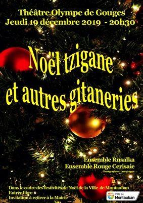 NOËL TZIGANE ET AUTRES GITANERIES #Montauban @ Théâtre Olympe de Gouges