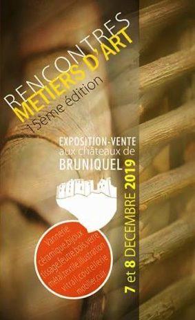 RENCONTRES DES MÉTIERS D'ART AUX CHÂTEAUX #Bruniquel @ Au Château