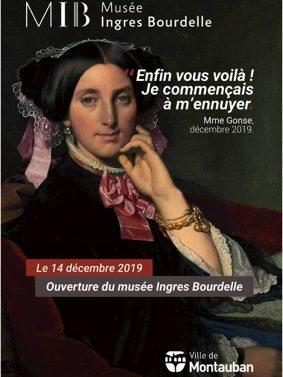 RÉOUVERTURE DU MUSÉE INGRES BOURDELLE #Montauban @ Musée Ingres Bourdelle