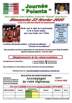 REPAS DANSANT #Castelsarrasin @ Salle Jean Moulin