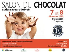 SALON DU CHOCOLAT ET DES SAVEURS DE NOËL #Montauban @ salle Eurythmie