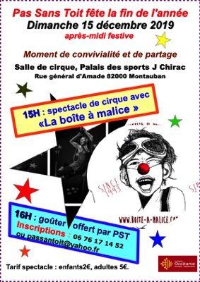 SPECTACLE DE CIRQUE #Montauban @ Palais des Sports Jacques Chirac