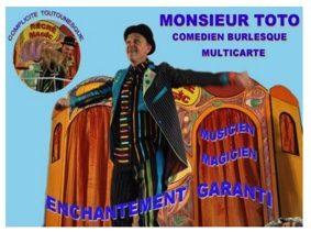 SPECTACLE MONSIEUR TOTO #Cazes-Mondenard @ Salle des fêtes