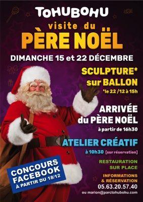 VISITE DU PÈRE NOËL #Montauban @ Tohubohu