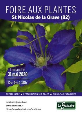 53ème FOIRE AUX PLANTES RARES ET DE COLLECTION #Saint-Nicolas-de-la-Grave @ Halle