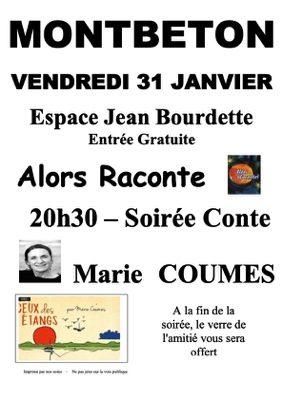 ALORS RACONTE #Montbeton @ Espace Jean Bourdette