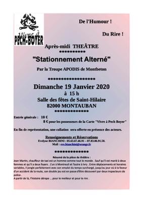 APRES MIDI THEATRE #Montauban @ Salle des fêtes de Saint-Hilaire