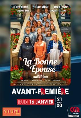 AVANT-PREMIÈRE LA BONNE ÉPOUSE #Montauban @ Cinéma CGR Le Paris