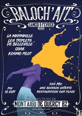 BALOCH'AJT #Montaigu-de-Quercy @ Salle des fêtes
