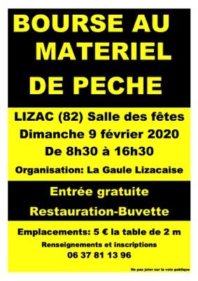 BOURSE AU MATÉRIEL DE PÊCHE #Lizac @ Salle des fêtes
