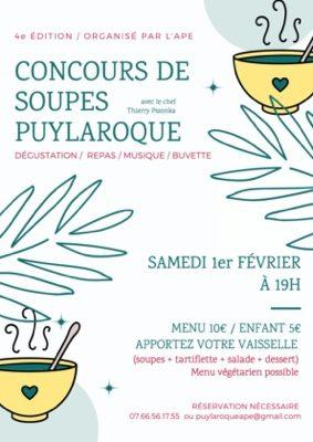 CONCOURS DE SOUPE #Puylaroque @ Salle des fêtes