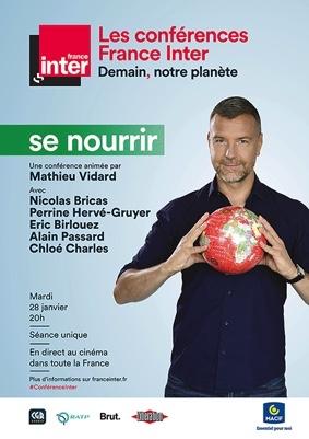 """CONFÉRENCE FRANCE INTER : """"DEMAIN NOTRE PLANÈTE, SE NOURRIR"""" #Beaumont-de-Lomagne @ Cinéma Les Nouveaux Bleus"""