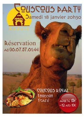 COUSCOUS PARTY #Caussade @ Espace Kodoro